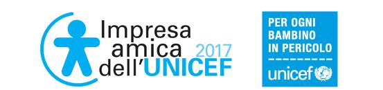 Logo UNICEF Impresa Amica dell'UNICEF 2017